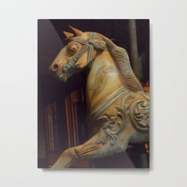 The Dark Horse Mourns Metal Print