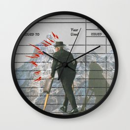 you attained an ambition Wall Clock