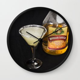 A Little Nip - Margarita Wall Clock