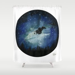 No power in the verse' can stop me now Shower Curtain