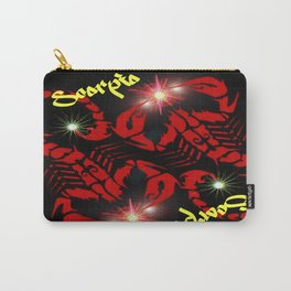 Scorpio Astrology Sign Carry-All Pouch
