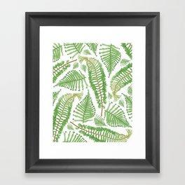 Ferna Framed Art Print