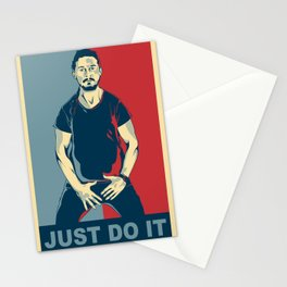 Shia Labeouf - Just do it Stationery Cards