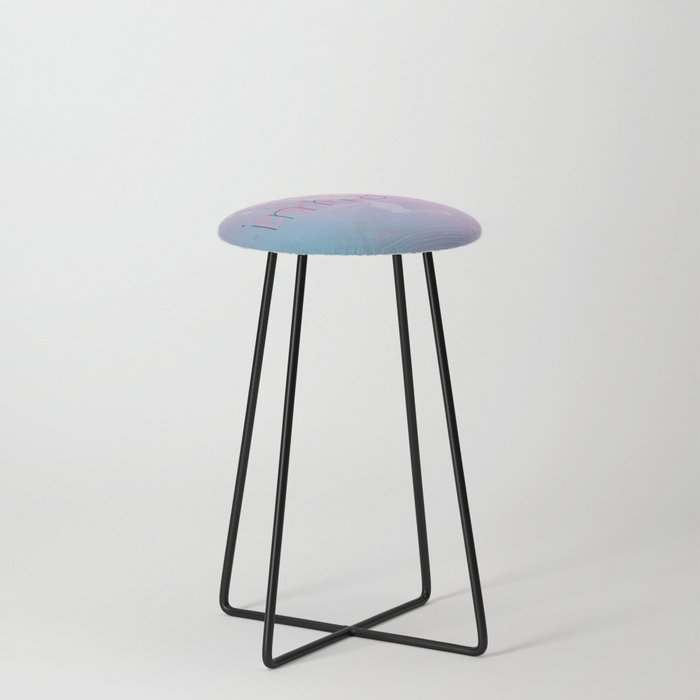 Inhale / Exhale Counter Stool