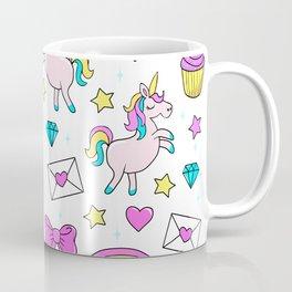 Cute Unicorn Pattern Coffee Mug