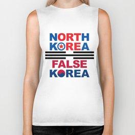 North Korea Biker Tank