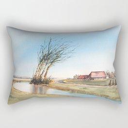 Friesland, The Netherlands Rectangular Pillow
