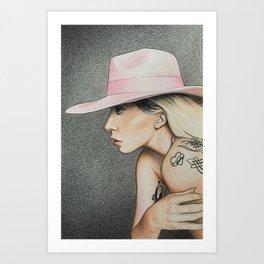 Joanne (Musician Portraits) Art Print