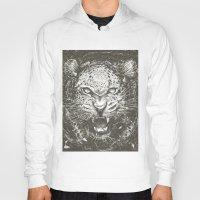 leopard Hoodies featuring LEOPARD by Stefania Grippaldi - IDEAS FLY studio
