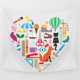 Heart It Wall Tapestry