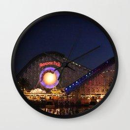 Fair After Dark Wall Clock