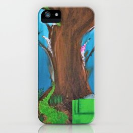 Fairy, Fairies. Abstract. Original Painting. Forest. Fantasy Forest. Fantasy. Jodilynpaintings. iPhone Case