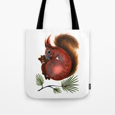 TinTin The Red Squirrel Tote Bag