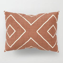 Hook in Rust Pillow Sham
