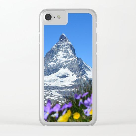 Matterhorn, Switzerland Clear iPhone Case