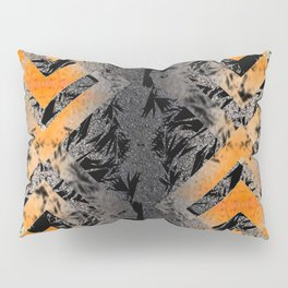 Metallic Abstract Pillow Sham