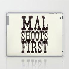Mal Shoots First Laptop & iPad Skin
