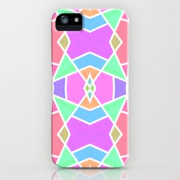 SWEET RETRO GEOMETRY iPhone Case