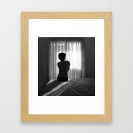 Change your heart Framed Art Print