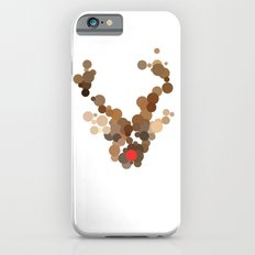 Dotted Rudolph face iPhone 6s Slim Case