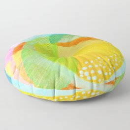 Photosynthesis Floor Pillow