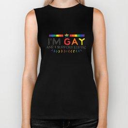 I'm Gay And I Support LGBTIQ Biker Tank