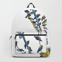 Birds on traffic lights Backpack