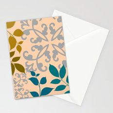 Leaves And Scrolls Stationery Cards