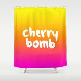 CHERRY BOMB Shower Curtain