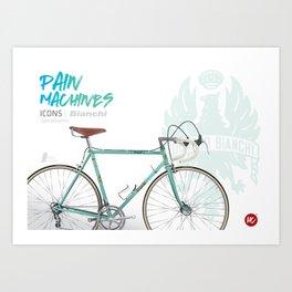 Pain Machines - Celeste Art Print