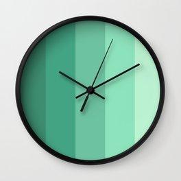 Mint Water Wall Clock