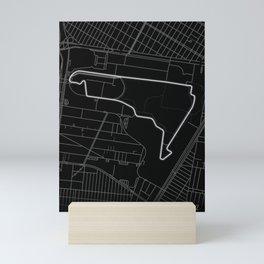 Mexican Grand Prix, Autodromo Hermanos Rodríguez, Mexico City Mini Art Print