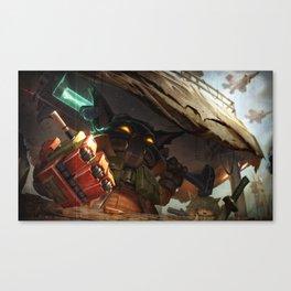 Omega Squad Veigar League Of Legends Canvas Print