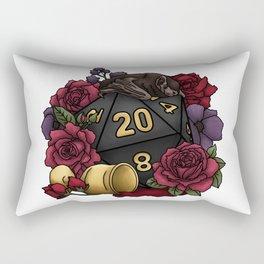 Vampire D20 Tabletop RPG Gaming Dice Rectangular Pillow