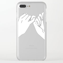 Pinky Swear Clear iPhone Case
