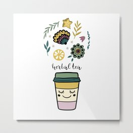 Herbal tea Metal Print