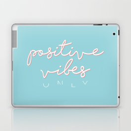 POSITIVE VIBES ONLY - BLUE Laptop & iPad Skin