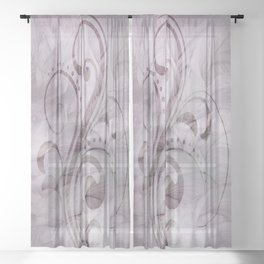 Cavillace Sheer Curtain