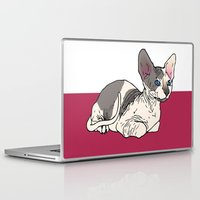 sphynx Laptop & iPad Skins featuring Sphynx by Mariel Castro