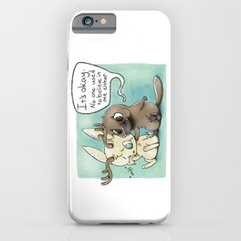 Cryptid Support Group iPhone Case