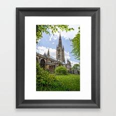 St Wulfram's Grantham Framed Art Print