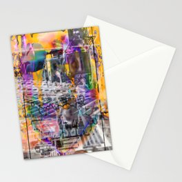 """Lost The Plot In The Last Quarter (or Art Instructors Hate The Term """"Cathartic"""", So...) Stationery Cards"""