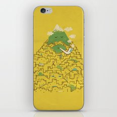 The Bearded City iPhone & iPod Skin