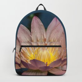 Beautiful Wateer Lily Backpack