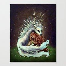 Spirit Wolf Canvas Print