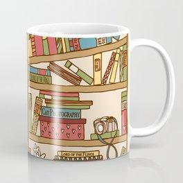 Bookshelf No. 1 Coffee Mug