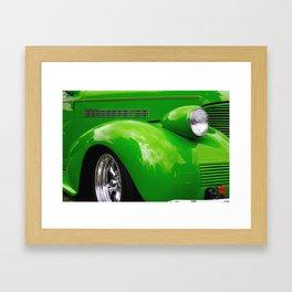 Green Machine Framed Art Print