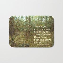 Blaze Your Own Trail Bath Mat