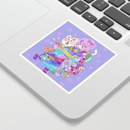 Rainbow sword -Nekoneko Sticker