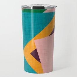 Kilim Flower grey Travel Mug